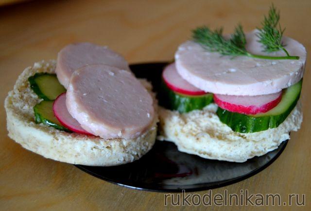 полезный бутерброд