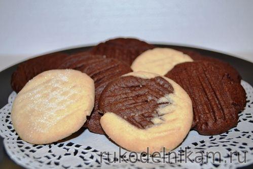 Печенье рассыпчатое как из банки