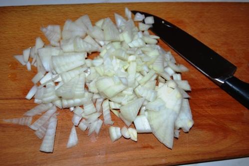 Овощное рагу с чечевицей