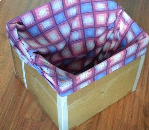 Как сшить на коробку чехол 14